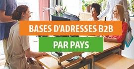 Bases B2B E-mails par pays