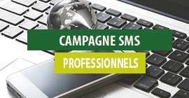 Campagne SMS professionnels