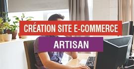 Création Site E-commerce Artisan