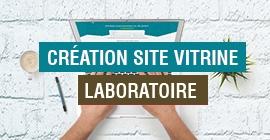 Création Site Web Laboratoire
