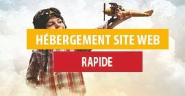Hébergement web Rapide
